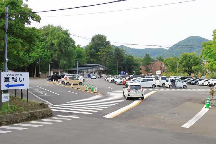 北海道神宮 北一条駐車場