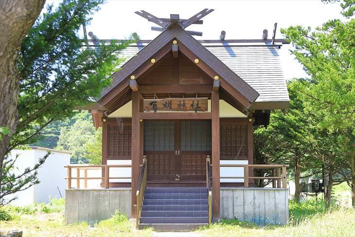 有明神社 社殿