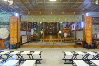 厚別神社 本殿内部