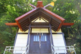 上盤渓神社 本殿