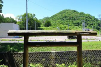上盤渓神社 本殿からの景色