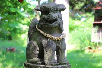 茨戸天満宮 狛犬様