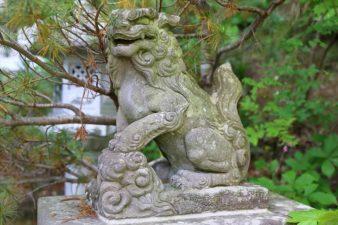 開拓神社(紅桜公園) 狛犬様