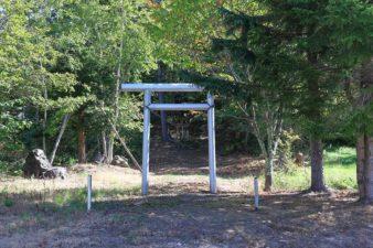 大金神社 鳥居