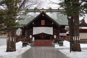 北海道神宮頓宮 本殿 冬