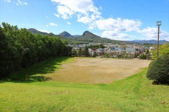 藤野神社 藤が丘高台公園からの眺め