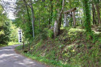 藤の沢神社 入口
