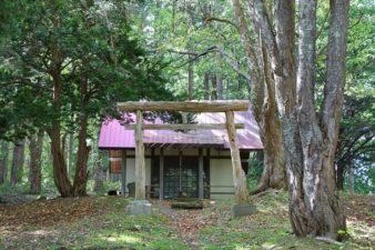 藤の沢神社 第2鳥居と本殿