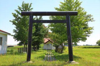 福移神社 鳥居と参道