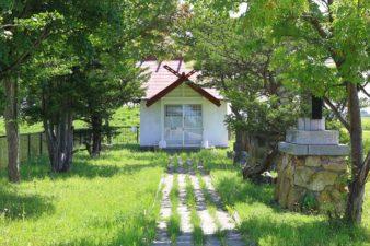 福移神社 参道と社殿