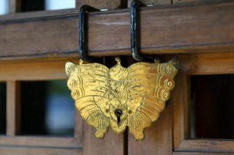 福住厳島神社 本殿の鍵