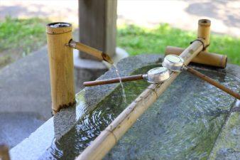 札幌伏見稲荷神社 手水舎