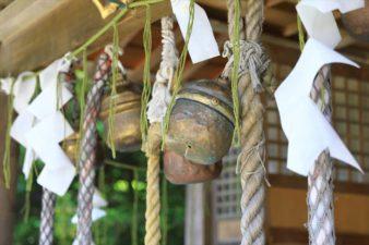 札幌伏見稲荷神社 本殿の鈴
