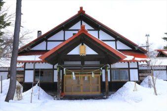 多賀神社 多賀殿 冬