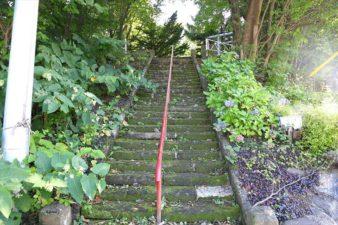 花岡神社 入口の階段