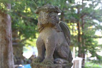 花岡神社 狛犬様