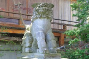 平岸天満宮及・太平山三吉神社 狛犬様