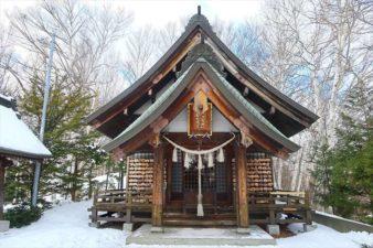 平岸天満宮及・太平山三吉神社本殿 冬