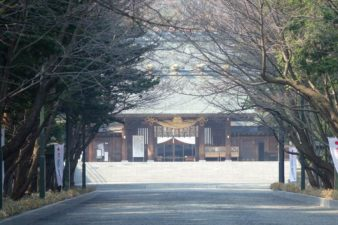 北海道神宮 参道と神門