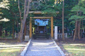 穂多木神社 全景