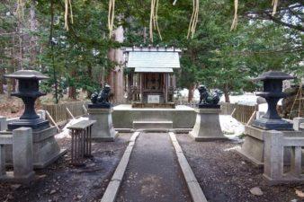 穂多木神社 境内