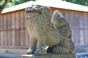石山神社 狛犬様