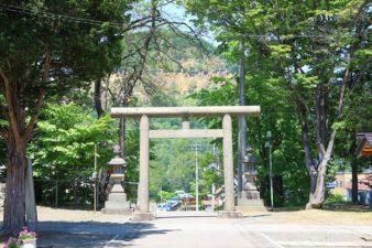 石山神社 鳥居
