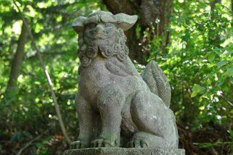 定山渓神社 狛犬様