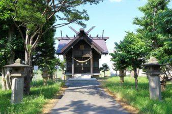 十軒神明宮 参道と本殿