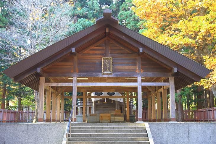 開拓神社 拝殿