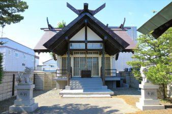上白石神社 本殿