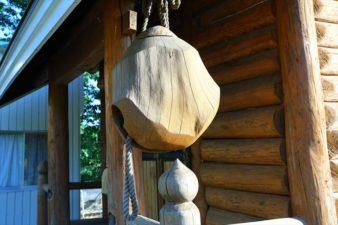 上砥山神社 社殿に取り付けられいたもの