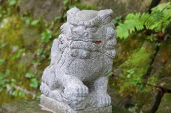 上山鼻神社 狛犬様