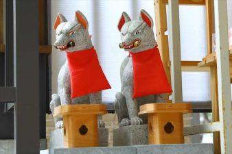 清田稲荷神社 お稲荷様