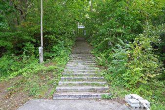 駒岡神社 参道階段