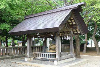 江南神社 手水舎