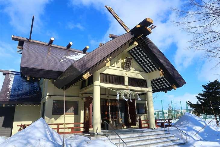 江南神社 本殿