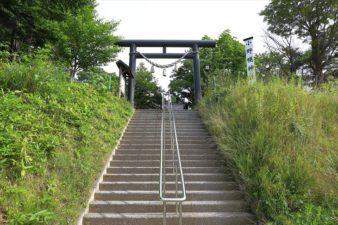 小野幌神社 国道側入口