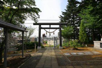 小野幌神社 境内
