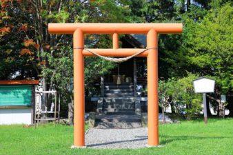 真駒内神社 鳥居