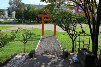 真駒内神社 参道