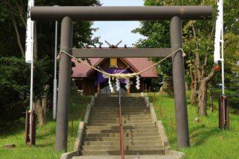 札幌南沢神社 鳥居