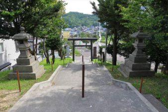 札幌南沢神社 参道