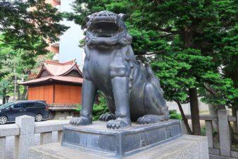 札幌三吉神社 狛犬様