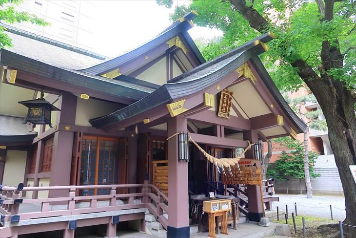 札幌三吉神社 本殿