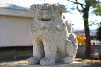 瑞穂神社 狛犬様