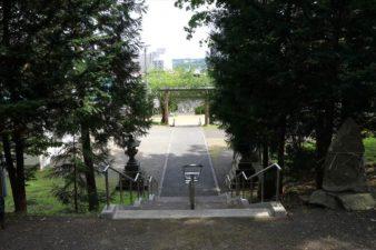 藻岩神社 参道の階段