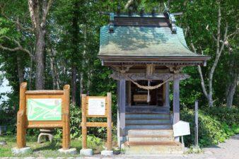 藻岩山神社 夏