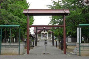 苗穂神社 入口