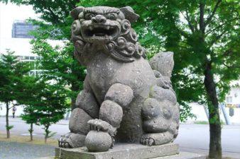 中の島神社 狛犬様